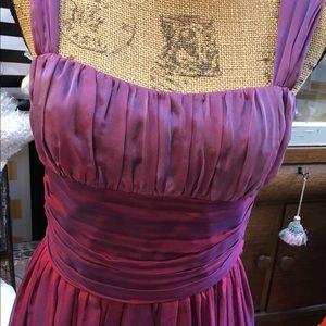 Cocktail Dress,David Meister,Size 6,dark pink